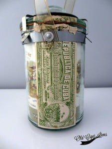 Punch Presidentes glass jar