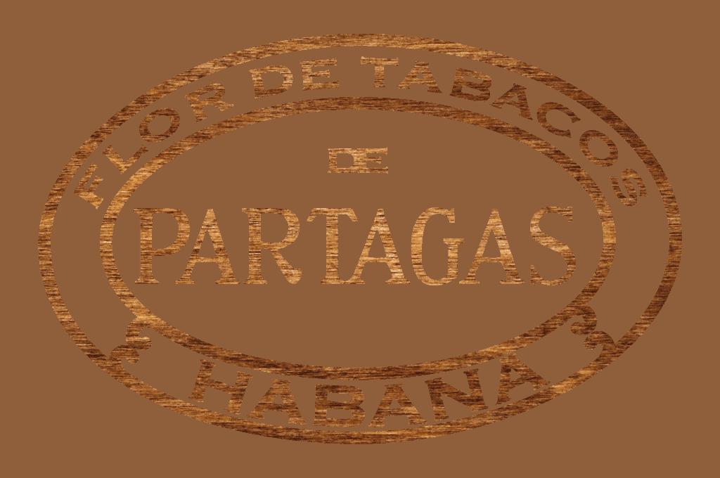PARTAGAS logo wood
