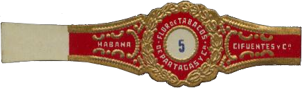 PARTAGAS n°5 ring - Cifuentes